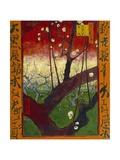 Flowering Plum Tree (After Hiroshige) Giclée-tryk af Vincent van Gogh