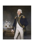 Samuel, First Viscount Hood Giclee Print by Lemuel Francis Abbott