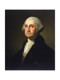 George Washington Giclee Print by  Rembrandt van Rijn