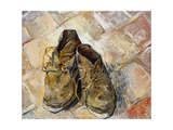 Shoes Giclee Print by Vincent van Gogh