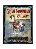 Great Northern Railway Poster Giclee Print
