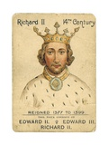 King Richard II Playing Card Giclee Print