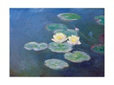 Nympheas: Sun Effects Giclee Print by Claude Monet