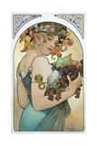 Fruit Giclee Print by Alphonse Mucha