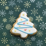 Christmas Cookie Photographic Print by Herry Choi