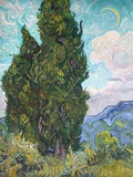 Cypresses Giclee Print by Vincent van Gogh