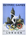 Olympic Games London Poster Giclee Print