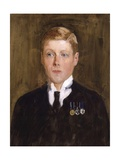 Portrait of Prince Edward, Duke of Windsor, King Edward VIII Giclee Print by Solomon Joseph Solomon