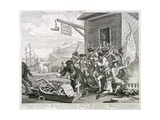 The Invasion: France Giclee Print by William Hogarth