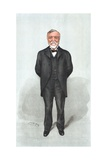 Caricature of Andrew Carnegie Giclee Print
