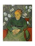La Berceuse (Portrait of Madame Roulin) Giclée-Druck von Vincent van Gogh