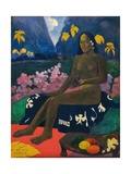 Te Aa No Areois (The Seed of the Areoi) Stampa giclée di Paul Gauguin