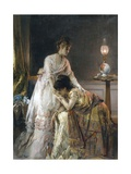 After the Ball Giclee Print by Alfred Emile Léopold Stevens