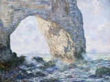 The Manneporte (Etretat) Giclee Print by Claude Monet