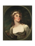 Portrait of Mrs Ann Pitt Giclee Print by George Romney