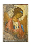 Icon of the Archangel Michael Giclee Print by Andrej Rublev