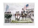 Surrender of Cornwallis at Yorktown Giclee Print