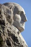 George Washington on Mount Rushmore Memorial Photographic Print by  Gutzon Borglum
