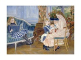 Children's Afternoon at Wargemont Giclee Print by Pierre-Auguste Renoir