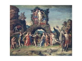 Parnassus Giclee Print by Andrea Mantegna