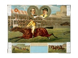 Champion Jockey Fred Archer Riding Ormonde Giclee Print