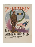 The Veteran: the U.S. Army Builds Men Giclee Print