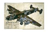 Halifax Bomber Giclee Print
