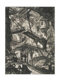 The Drawbridge Giclee Print by Giovanni Battista Piranesi