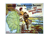 London and North Western Railway Poster Giclee Print