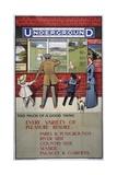 London Underground Poster, 1911 Giclee Print