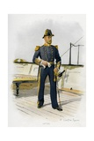 Royal Navy Captain Giclee Print