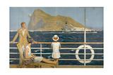 Gibraltar Poster Giclee Print