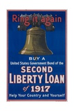 Ring it Again Second Liberty Loan Poster Giclee Print