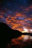 Orange Clouds at Coastal Sunrise Photographic Print by Paul Souders