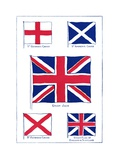 The Origins of the British Flag Giclee Print