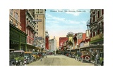 Houston Street in San Antonio Giclee Print