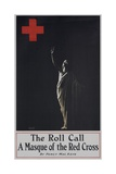 The Roll Call: a Masque for the Red Cross Poster Giclee Print