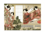 Japanese Beauties Giclee Print