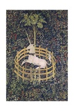 The Unicorn in Captivity Tapestry Giclee Print