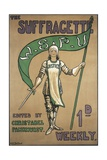 Poster Advertising the Suffragette Newspaper Giclee Print