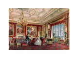 The Rubens Room in Windsor Castle Giclee Print