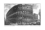 View of the Coliseum Giclee Print by Giovanni Battista Piranesi