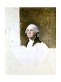 Portrait of George Washington (The Athenaeum Portrait) Giclee Print by Gilbert Stuart