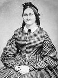 Mature Woman Tintype Portrait, Ca. 1865 Photographic Print