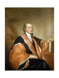 Portrait of John Jay Giclee Print by Gilbert Stuart