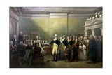 General George Washington Resigning His Commission Giclee Print by John Trumbull