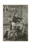Pear's Soap Advertisement Giclee Print