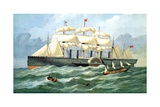 Ik Brunel's Steam Ship 'Great Eastern' Giclee Print