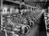 Model a Bodies Awaiting Assembly Photographic Print