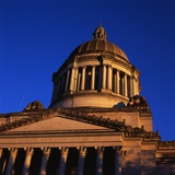 Washington State Capitol Building Photographic Print by Paul Souders